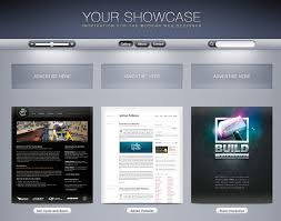 showcase gallery ui psd freedownload photoshop psd