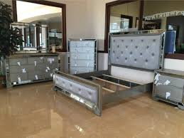 silver flake mirror bedroom set for sale in houston tx 5miles