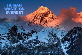 human waste on everest creates environmental issue time com