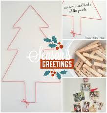 christmas tree card display honey we u0027re home