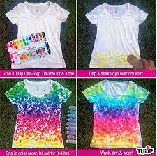 rainbow drip tie dye shirt ilovetocreate