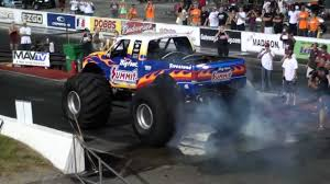 nitro circus monster truck a rare big foot sighting monster truck drag is here scudstream