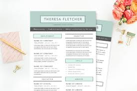 Resume Sample Korea by Chic Resume Template Package Resume Templates Creative Market