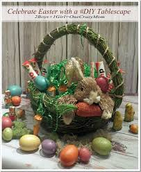 get some easter diy ideas from baskets to tablescape and enter