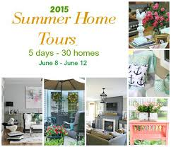 thrifty home decorating blogs our summer home tour from thrifty decor