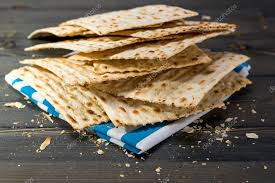 matzo unleavened bread matzah matza matzo unleavened bread stock photo