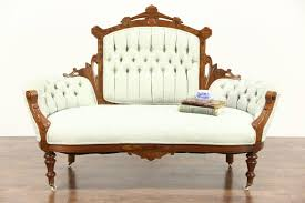 Kimball Victorian Furniture Reproductions by Victorian Loveseat Ebay