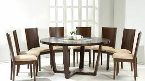 table round glass dining table for 6 fascinate round glass