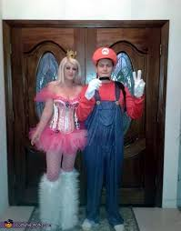 Princess Peach Halloween Costumes Princess Peach Mario Couples Halloween Costume