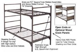 Military Supply House Bunk Beds US Military Bunks Beds - Used metal bunk beds