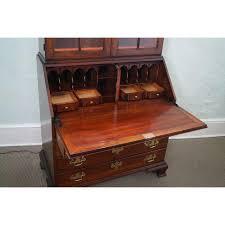Cherry Secretary Desk by Statton Solid Cherry Chippendale Secretary Desk Chairish