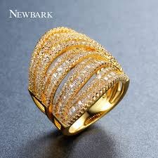big rings design images Newbark newest design ring bohemia gold color big rings for women jpg
