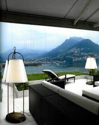 lighting ideas floor lamps for patio with black patio lounge