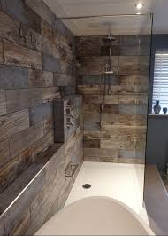 Wood Floor Bathroom Ideas Wood Tile Bathroom Home Design Gallery Www Abusinessplan Us