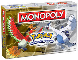 Barnes And Nobles Board Games Monopoly Pokémon Johto Edition Monopoly Usaopoly