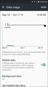 android data usage how to monitor and reduce your data usage on android