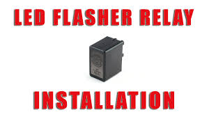 how to install led flasher relay on a suzuki drz 400 s sm by tst