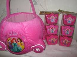 princess easter baskets buy plush disney princess easter basket set in cheap price on m