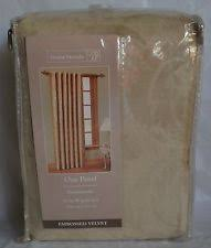 home trends 100 cotton curtains drapes u0026 valances ebay