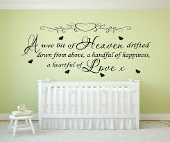 Wall Decal Quotes For Nursery by Wall Decoration Nursery Wall Art Stickers Lovely Home