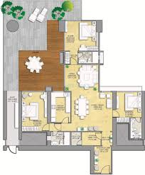 Modern Studio Plans Orange Hall University Housing Apartment Style Floorplan Bath Is