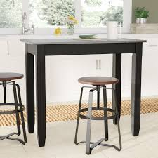 counter height pub table laurel foundry modern farmhouse citronelle galvanized counter height