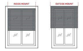window blinds exterior window blinds inside outside mount