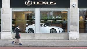 lexus lfa for sale america lexus lfa to sell not lease in europe
