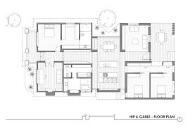 Floorplanes Gallery Of Hip U0026 Gable House Architecture Architecture 20