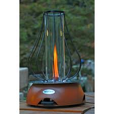 Tabletop Patio Heaters by Biofuel Tabletop Fire Pit Rustic Red Cycloflame Touch Of Modern