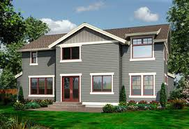 front sloping lot house plans for the front sloping lot 23404jd architectural designs