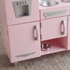 kidkraft cuisine vintage 53179 kidkraft pink vintage kitchen 53179 hayneedle