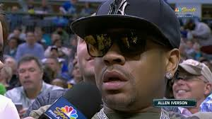 Allen Iverson Meme - allen iverson on the sixers i love my little dudes they re my