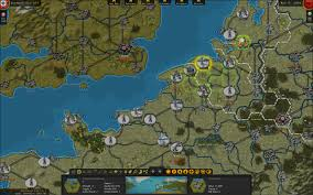 Ww2 Europe Map Matrix Games Strategic Command Wwii War In Europe
