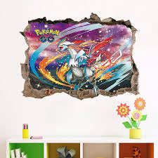Popular Wall Decal PokemonBuy Cheap Wall Decal Pokemon Lots From - Cheap wall decals for kids rooms