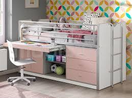 lit surélevé avec bureau commander un lit surélevé avec bureau meubles pour votre intérieur