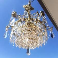 Real Crystal Chandelier Crystal Chandelier In Melbourne Region Vic Ceiling Lights