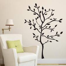 compare prices on tree wall online shopping buy low price tree home window door sticker tree wall stickers decoration for living room bedroom bathroom wall art decor
