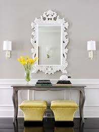 entrance table and mirror accessorize your front entry console styling everyday items and