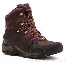 merrell womens boots canada shoes s merrell polarand 8 waterproof espresso boots
