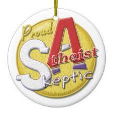 skeptic atheist ornaments keepsake ornaments zazzle