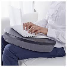 Laptop Cushion Desk by Byllan Laptop Support Majviken Multicolor White Ikea