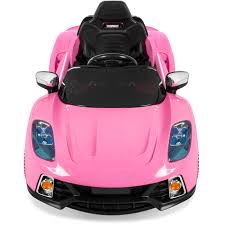 light pink audi 12v ride on car kids w mp3 electric battery power remote control