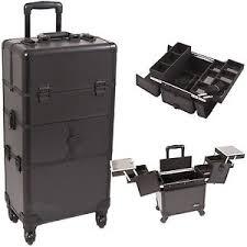 professional makeup storage professional makeup on wheels 2 in 1 aluminum storage