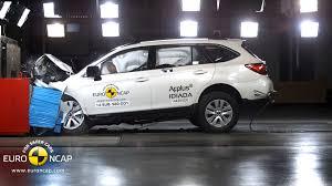 crashed subaru wrx euroncap announces crash test scores for land rover discovery