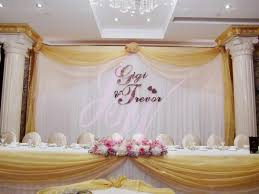 wedding backdrop name joyce wedding service backdrop name