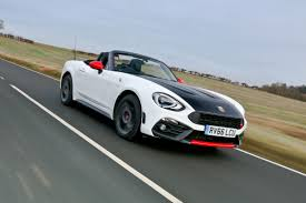 girly sports cars abarth 124 spider 2017 review auto express