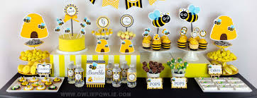 bumble bee baby shower theme owlie powlie