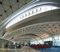 hong kong international airport midfield concourse fully operates
