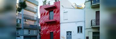 Home Genius by Gentle Genius Bright Red Jeweled Facade Slashes Italian Home U0027s